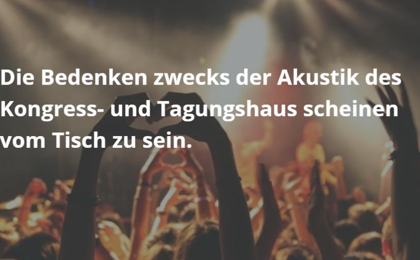 Konzerte und Musicals sollen Besucher ins Kongress- und Tagungshaus Bodenseeforum ziehen